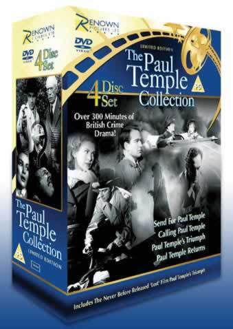 Win a Paul Temple DVD Boxset