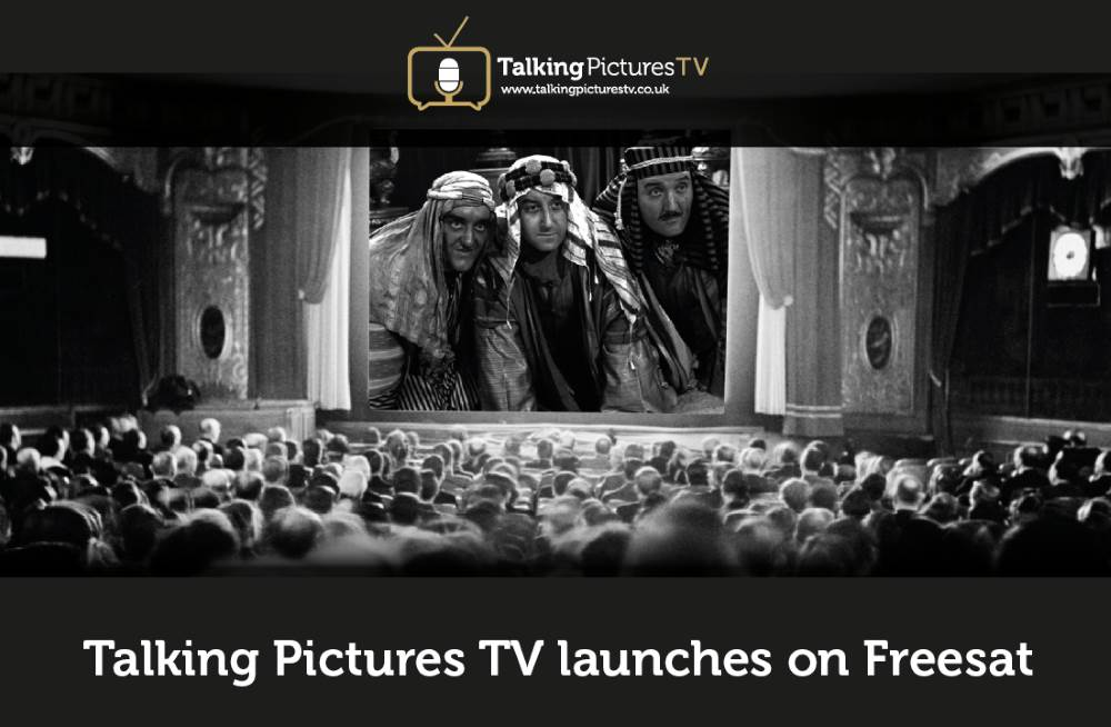 Talking Pictures TV Launches on Freesat