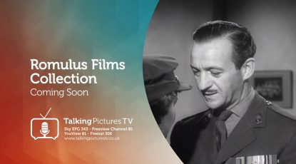 Romulus Films on Talking Pictures TV