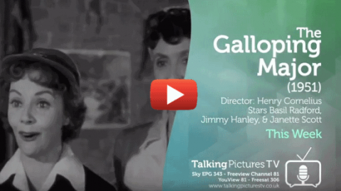 The Galloping Major This Week on Talking Pictures TV