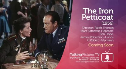 The Iron Petticoat on Talking Pictures TV